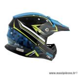 Casque moto cross Voodoo Ride Pro Replica SC15 taille S (T55-56) couleur bleu