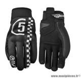 Gants moto Five Globe Replica Racer taille S couleur noir