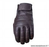 Gants moto Five California taille M couleur marron