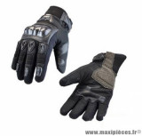 Gants moto hiver Steev Louga 2018 taille XS (T7) couleur noir