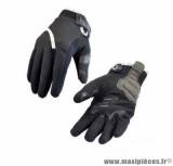 Gants moto hiver Steev Oural 2018 taille M (T9) couleur noir/blanc