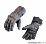 Gants moto hiver Steev Novak 2018 taille XXL (T12) couleur noir/blanc