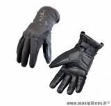 Gants moto femme hiver Steev Volga taille XS (T7) couleur noir