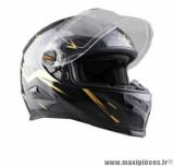 Casque intégral Trendy 18 T-501 Sypher taille XS (T53-54) couleur noir/jaune verni