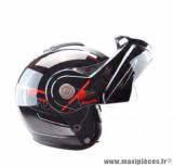 Casque modulable simple écran Trendy 19 T-705 Reverse taille S (T55-56) couleur noir/rouge verni