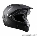 Casque moto cross écran Trendy 18 T-802 Escape taille L (T59-60) couleur noir mat *Prix spécial !