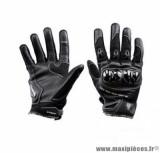 Gants moto été Steev Superbike 2018 taille M (T9) couleur noir