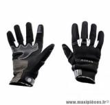 Gants moto été Steev Chicago V2 2018 taille M (T9) couleur noir/blanc