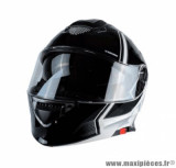 Casque modulable Trendy 19 T-704 Ready taille XXL (T63-64) couleur blanc/noir verni