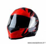 Casque intégral Trendy 19 T-501 Stealth taille M (T57-58) couleur noir/rouge