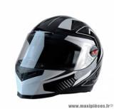 Casque intégral Trendy 19 T-501 Enkel taille S (T55-56) couleur noir/blanc/gris