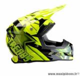 Casque moto cross Trendy 19 T-902 Dreamstar taille XXL (T63-64) couleur noir/jaune