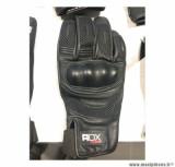 Gants moto automne-hiver ADX Blockisland taille S (T8) couleur noir