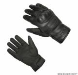 Gants moto automne-hiver ADX Blockisland taille M (T9) couleur noir
