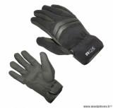 Gants moto automne-hiver ADX Keywest taille M (T9) couleur noir