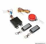 Alarme Armlock 125 décibels avec demarrage à distance pour moto / scooter (certification CE)