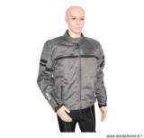 Blouson ADX Nashville taille XL couleur gris (avec protections, sans plaque dorsale)