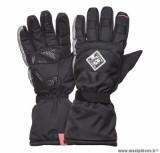 Gants moto automne-hiver Tucano Super Insulator CE taille S (T8) couleur noir