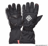 Gants moto automne-hiver Tucano Super Insulator CE taille XL (T10) couleur noir