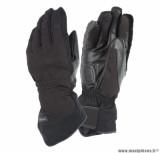 Gants moto automne-hiver Tucano New Seppia taille S (T8) couleur noir