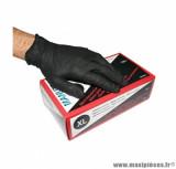 Prix spécial ! Boite x100 gants atelier nitrile taille XL (T10) manutril spécial essence et huile