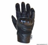 Gants moto printemps-été ADX Blockisland taille S (T8) couleur noir