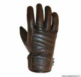 Gants moto 4SEASONS ADX florida taille S (T8) couleur marron