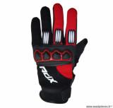 Gants cross ADX Town taille M (T9) couleur noir/rouge