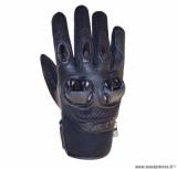 Gants moto printemps-été ADX Chicago taille M (T9) couleur noir