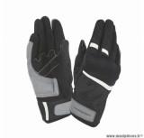 Gants moto printemps-été Tucano Penna taille M (T9) couleur noir/blanc (compatible écran tactile)