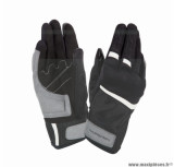 Gants moto printemps-été Tucano Penna taille XXL (T12) couleur noir/blanc (compatible écran tactile)