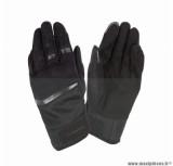 Gants moto printemps-été Tucano Penna taille S (T8) couleur noir (compatible écran tactile)