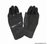 Gants moto printemps-été Tucano Penna taille M (T9) couleur noir (compatible écran tactile)
