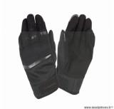Gants moto printemps-été Tucano Penna taille XL (T11) couleur noir (compatible écran tactile)