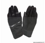 Gants moto printemps-été Tucano Penna taille XXL (T12) couleur noir (compatible écran tactile)