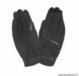 Gants moto printemps-été Tucano Miky taille S (T8) couleur noir (compatible écran tactile)