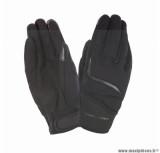 Gants moto printemps-été Tucano Miky taille M (T9) couleur noir (compatible écran tactile)