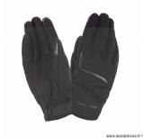 Gants moto printemps-été Tucano Miky taille XL (T11) couleur noir (compatible écran tactile)