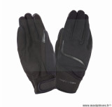 Gants moto printemps-été Tucano Miky taille XXL (T12) couleur noir (compatible écran tactile)