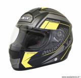 Casque intégral ADX XR1 Battleground taille XXL (T63-64) couleur noir/jaune fluo mat