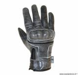Gants moto 4SEASONS ADX Vintage taille M (T9) couleur gris