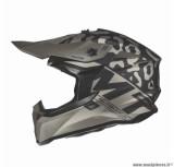 Casque moto cross adulte MT Falcon Karson taille XS (T53-54) couleur noir mat