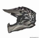 Casque moto cross adulte MT Falcon Karson taille M (T57-58) couleur noir mat