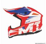 Casque moto cross adulte MT Falcon Weston taille XS (T53-54) couleur orange brillant