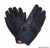 Gants moto printemps-été Tucano Gig taille M (T9) couleur noir (compatible écran tactile)