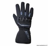 Gants moto automne-hiver ADX Pittsburgh taille M (T9) couleur noir