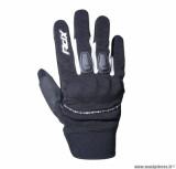 Gants moto 4SEASONS ADX Indianapolis taille M (T9) couleur noir/blanc