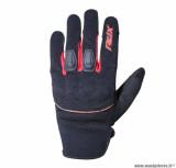 Gants moto 4SEASONS ADX Indianapolis taille L (T10) couleur noir/rouge