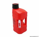 Bidon/jerrican 10L Polisport Prooctane rouge (+ bidon 100ml)