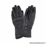 Gants moto femme automne-hiver Tucano Baronessa Lady taille S (T7) couleur noir